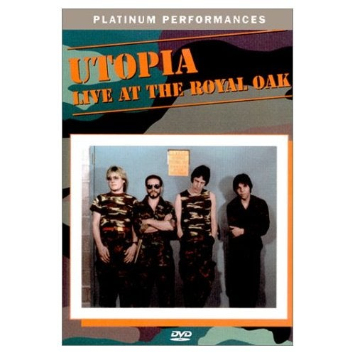 Image of Utopia Live At Royal Oak DVD