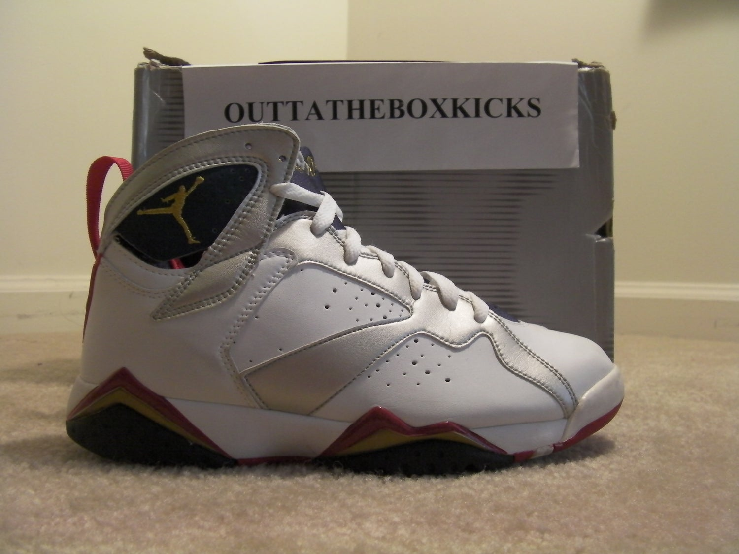 outlet store fb6d7 36d49 Air Jordan 7 Olympic 2004 size 10.5