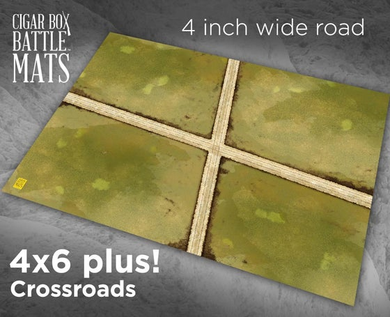 Image of Crossroads -- 4 inch roads -- #184