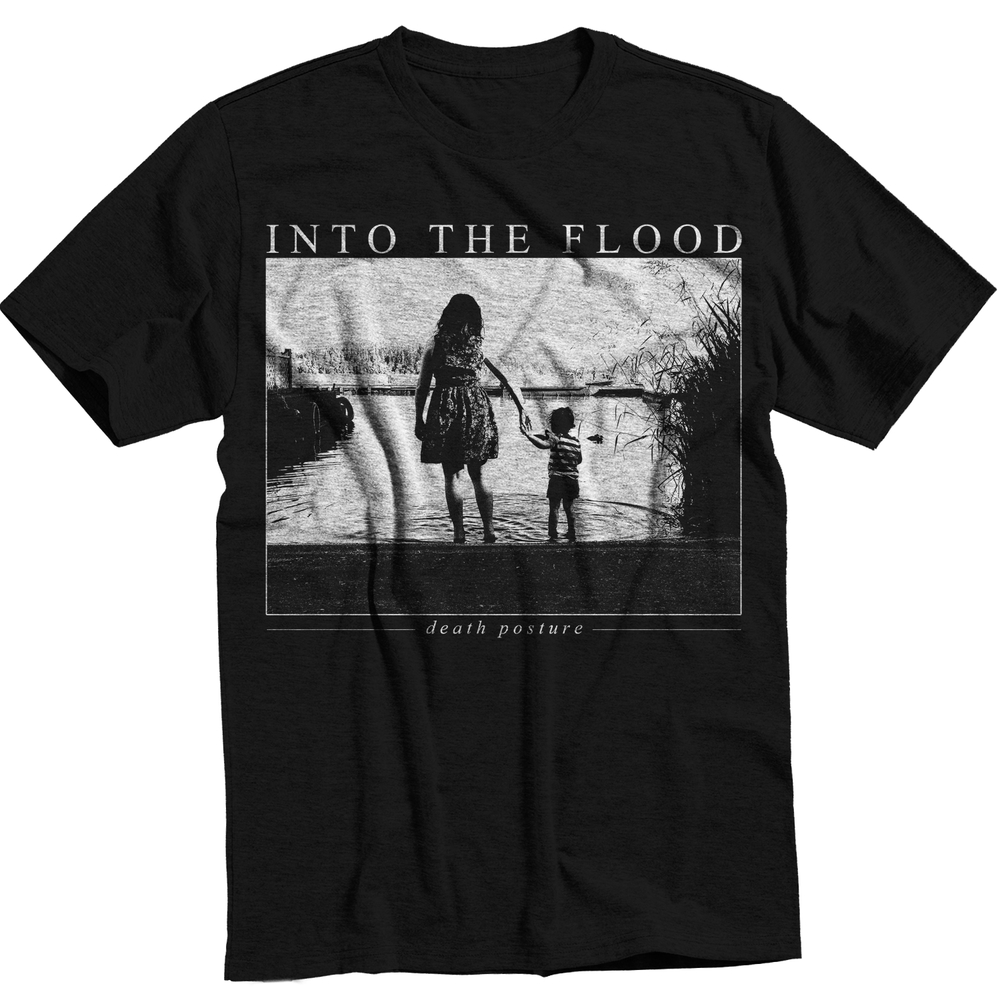 Image of 'Death Posture' Black Lake T-Shirt