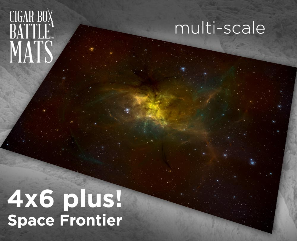 Image of Space Frontier -- 4x6 plus -- #250