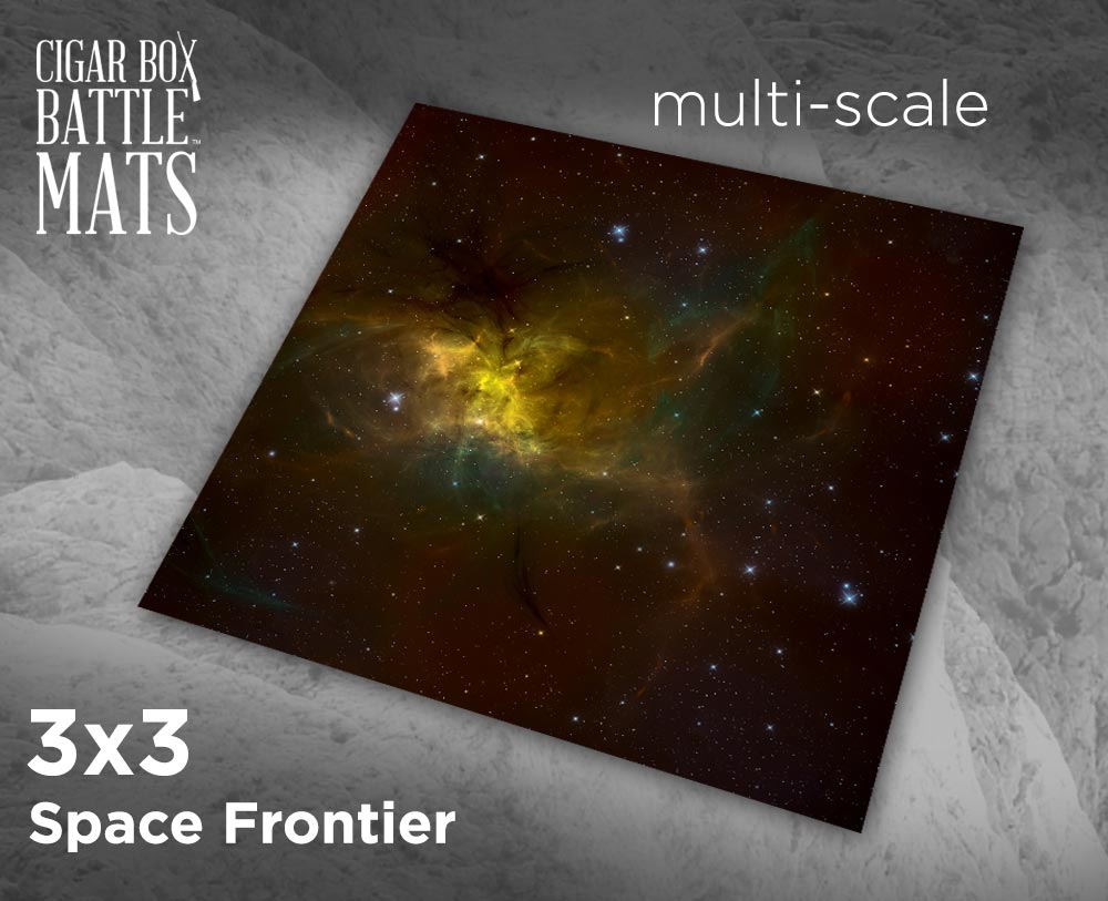 Image of Space Frontier -- 3x3 -- #251