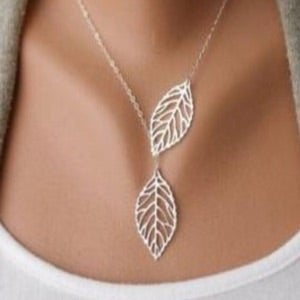 Image of Goddess Silver Necklace