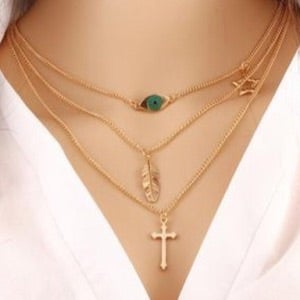 Image of Praise Me Layered Necklace