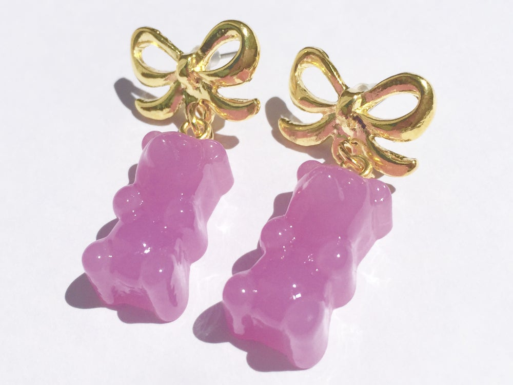 Image of Jelly Bear earrings
