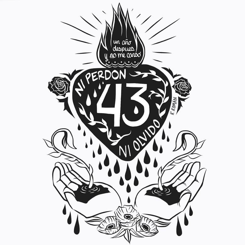 Image of Ayotzinapa 1 year - shirt