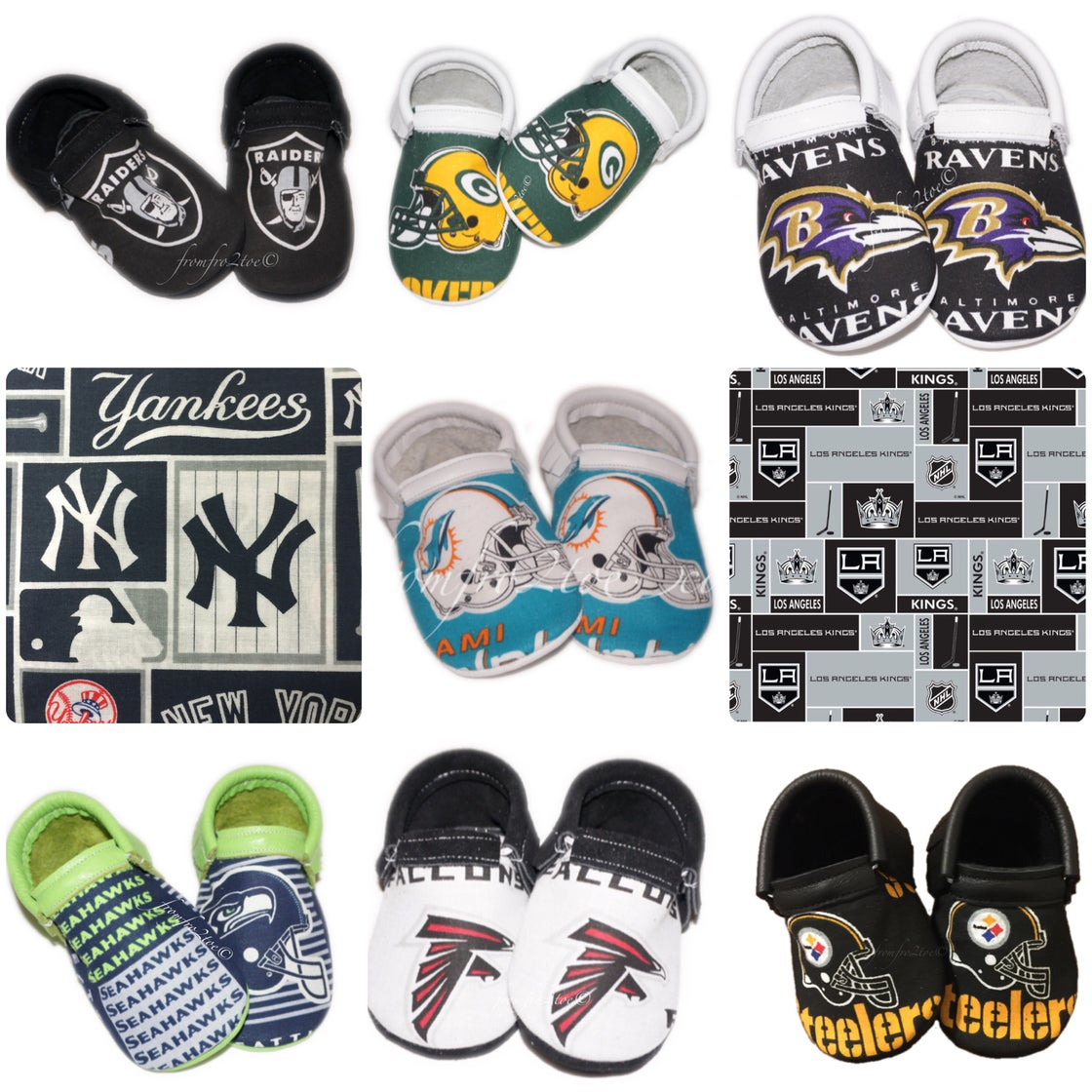 Image of Fan Moccs (50+ Teams to Choose)