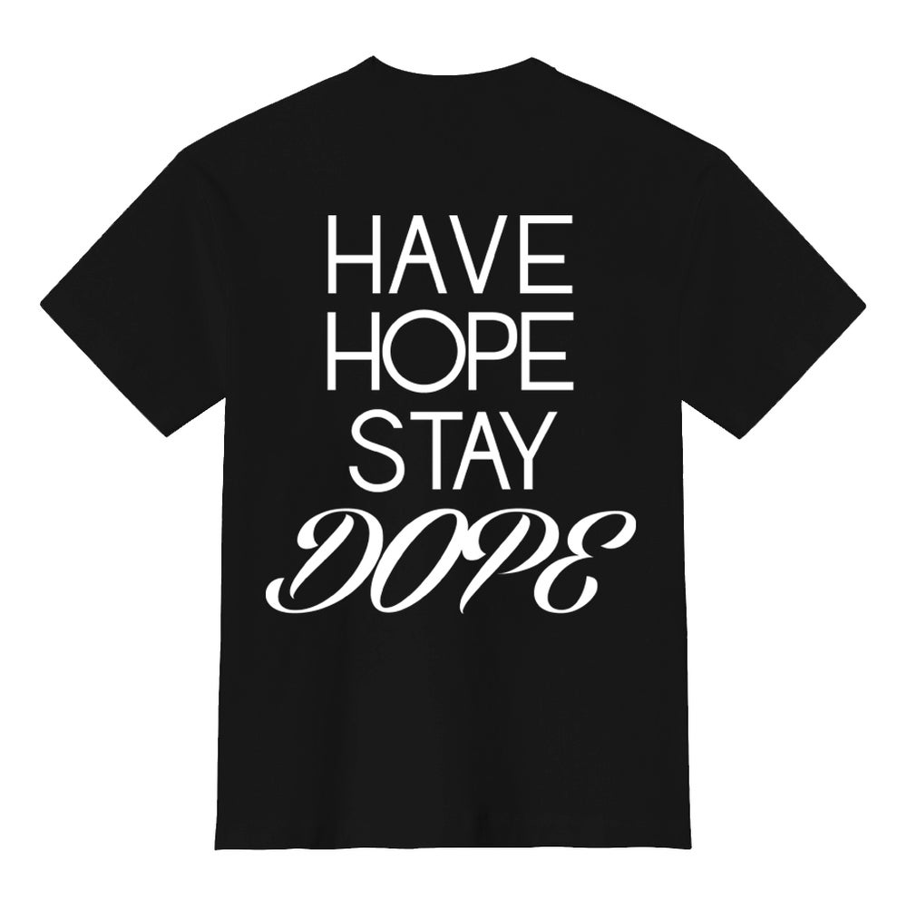 Image of Black JBD Hope Tee