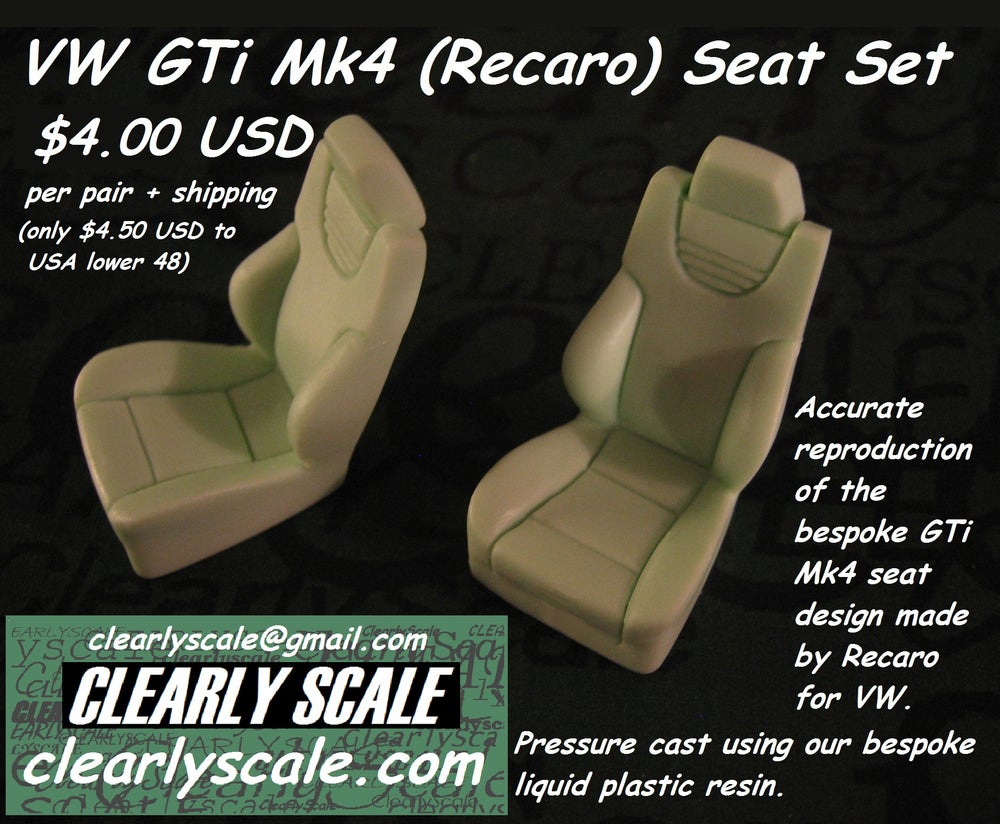 Image of VW GTi Mk4 (Recaro) Seat Set