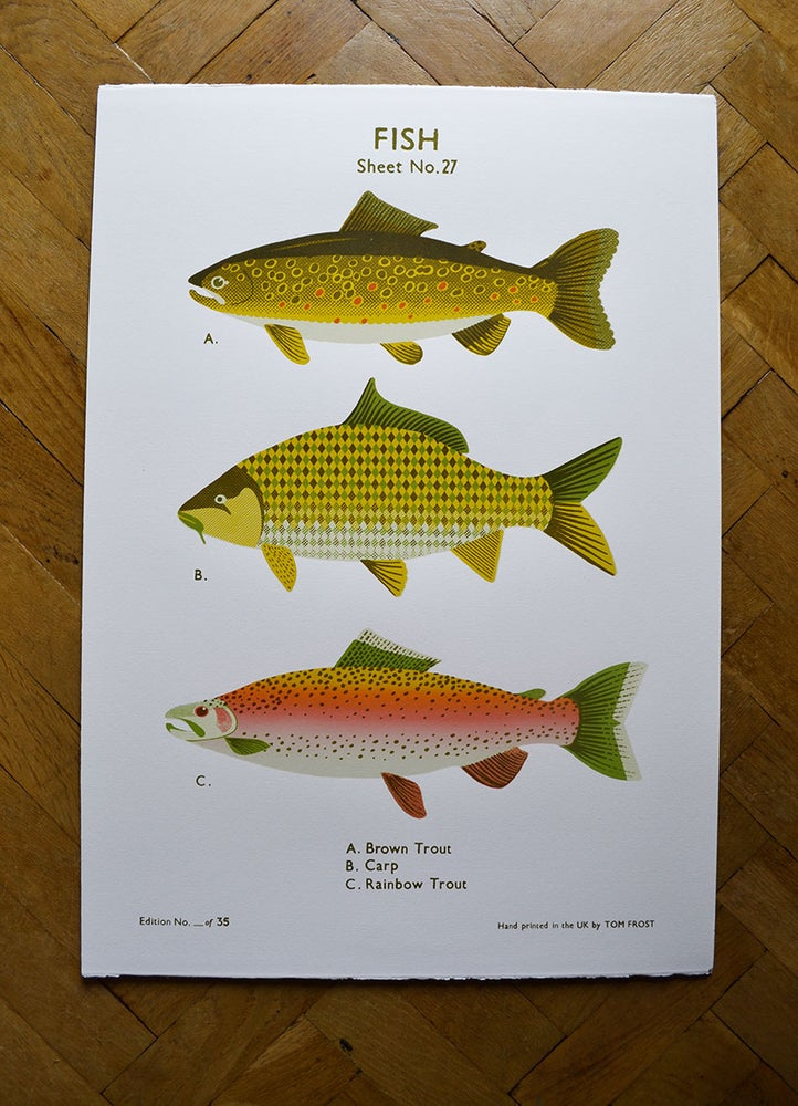Image of Fish School Chart