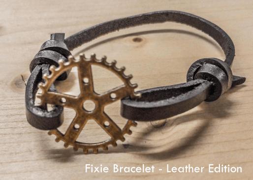 Image of Fixie Bracelet - Leather Edition