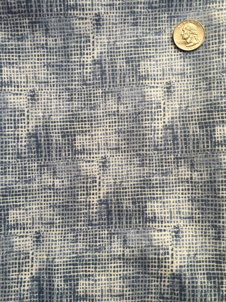 Image of Blue Faded Weave