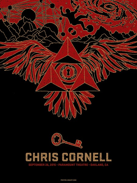 Image of Chris Cornell Oakland 2015