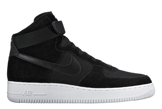 "Image of Nike Air Force 1 High ""Black/Black-White"""