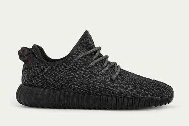 Adidas yeezy 350 boost jet black