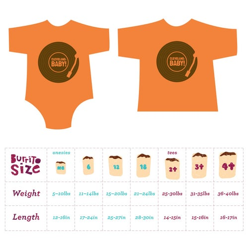 Image of Cleveland, Baby! Toddler Tee/ Baby Bodysuit