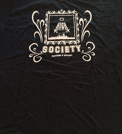 Image of High Society 360 'Take Off' 2.0 Black Edition T-Shirt