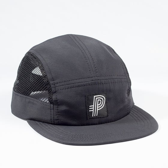 Image of Preview Track Camp cap, black