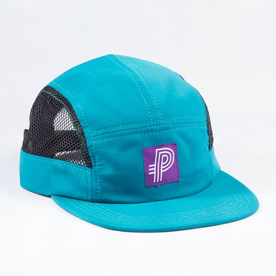 Image of Preview Track Camp cap, deep ocean