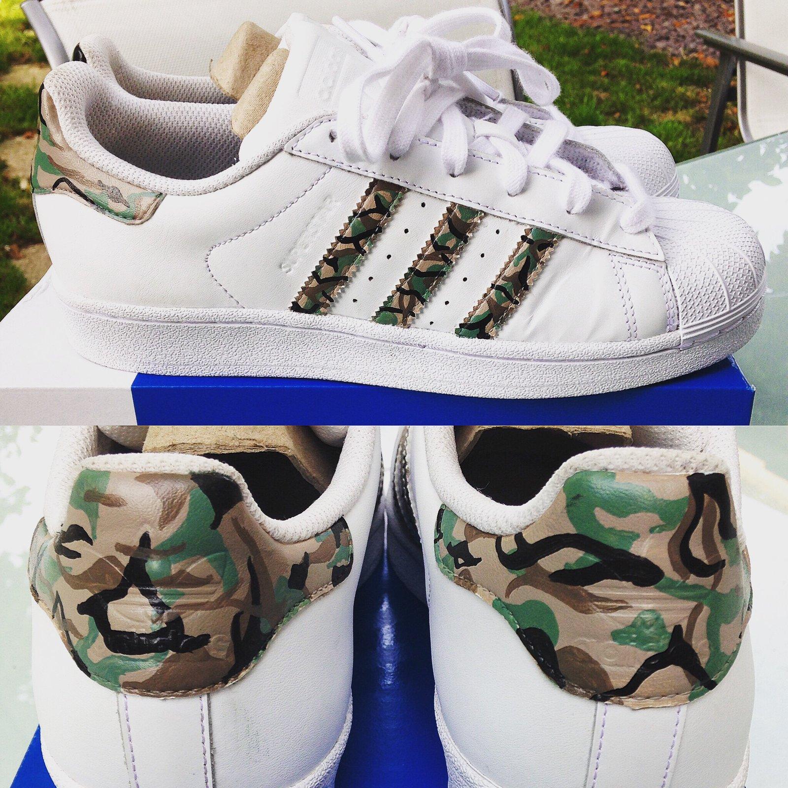 adidas superstar military