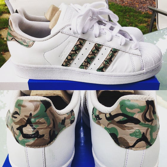 Image of 'ADIDAS SUPERSTAR - MILITARY CAMO'