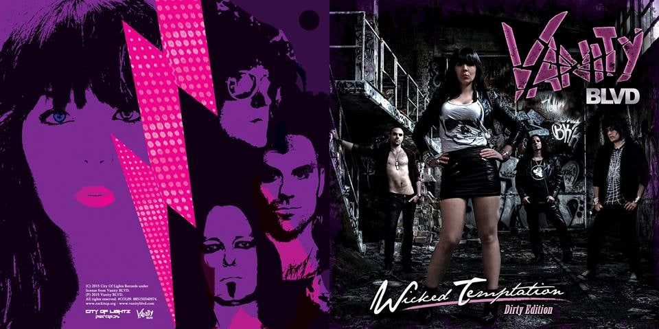 "Image of Wicked Temptation ""Dirty Edition"" Album/CD"