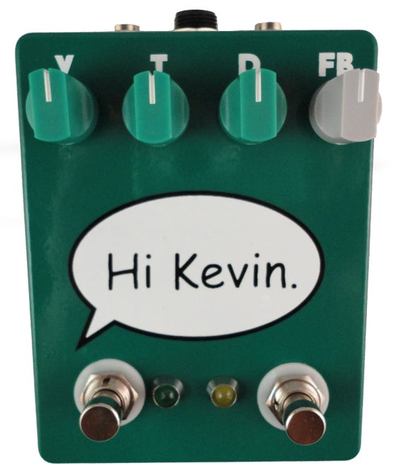"Image of Fuzzrocious Demon ""Hi Kevin"" Overdrive Collaboration"