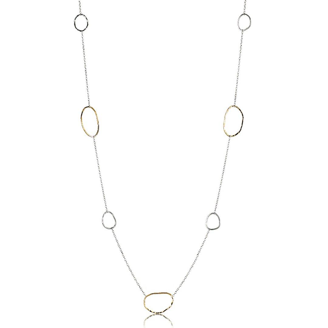 Image of Scattered River Rock Necklace