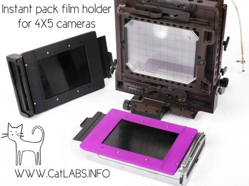 Image of CatLABS Refurbished Polaroid 405 Back