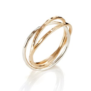 Image of Intertwined Trio Ring
