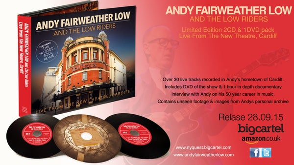 Image of Andy Fairweather Low & The Lowriders, Live From The New Theatre Cardiff