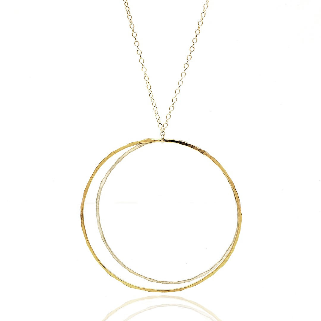 Image of Double Hoop Pendant