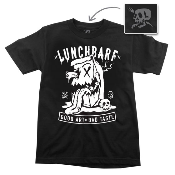 Image of LUNCHBARF LOGO TEE