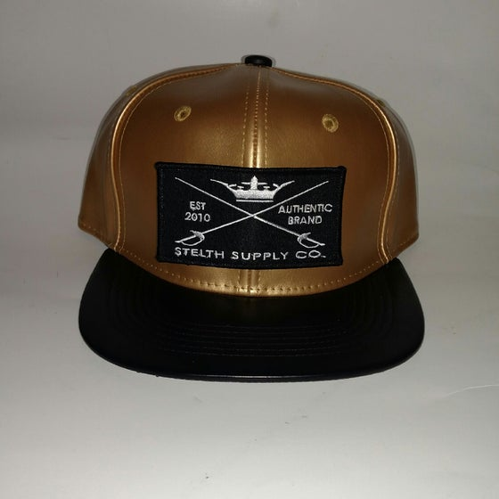 Image of Tradition- Gold with black brim