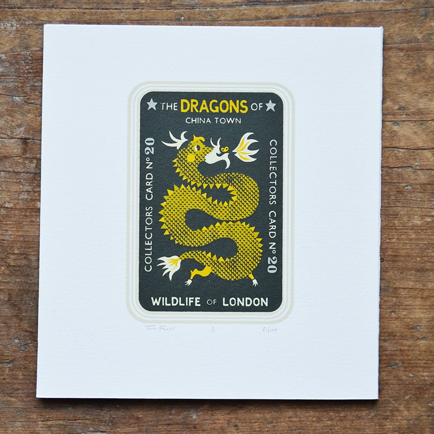 Image of Dragon Collectors Card