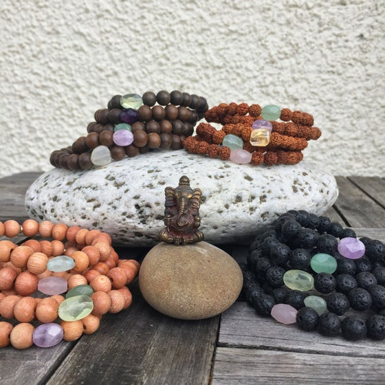 Image of Set of 3 Mala Bracelets