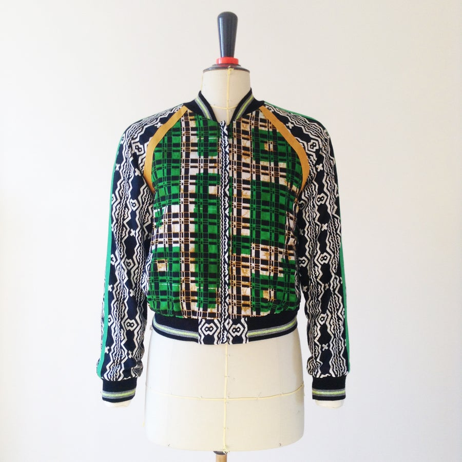 Image of *College Ting* Jacket - Go Green