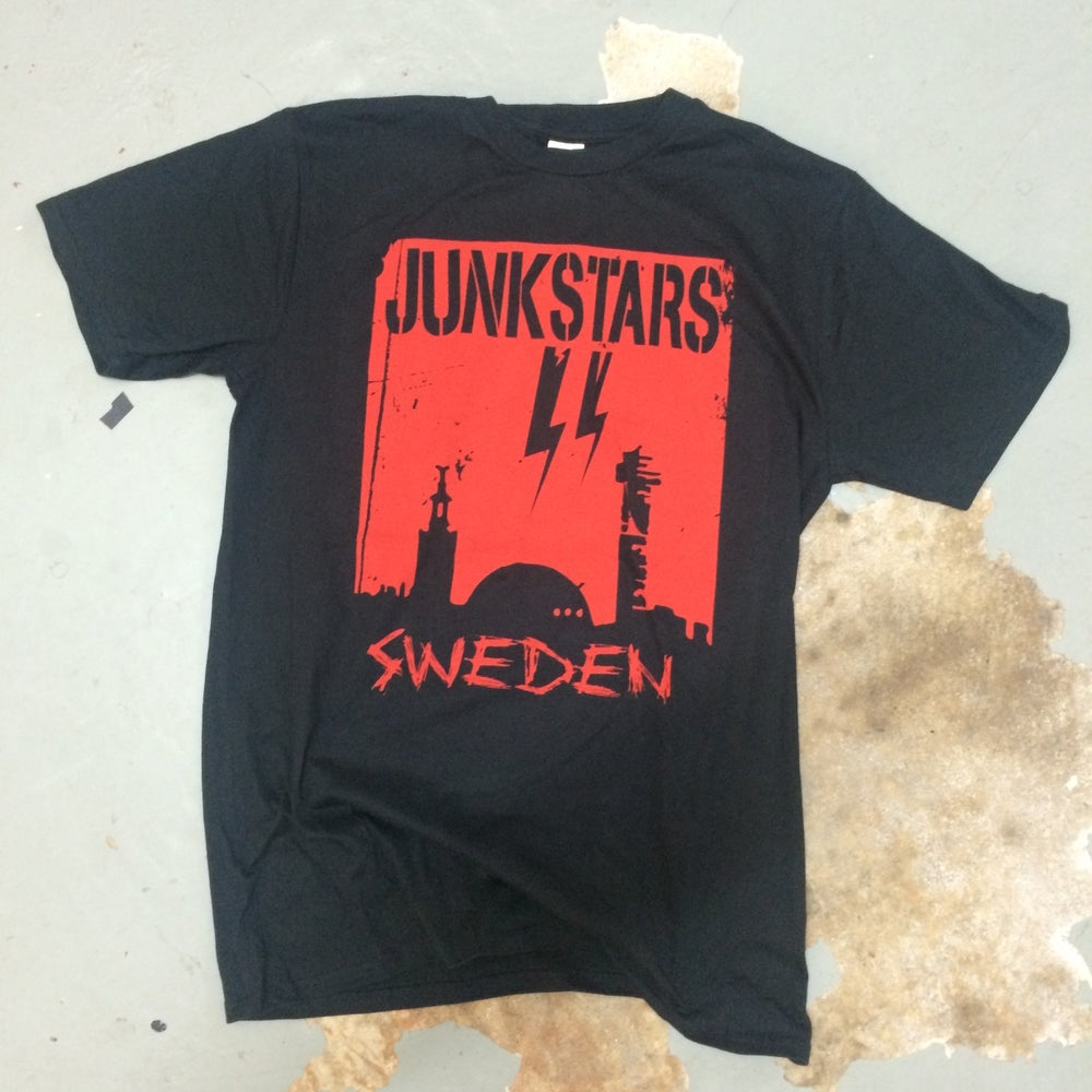Image of Junkstars - Stockholm (Red Shirt)