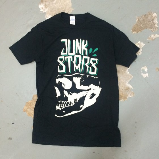 Image of Junkstars - Skull (Green Shirt)