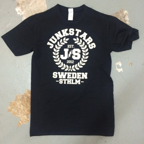 Image of Junkstars - Wreaths (Black Shirt)