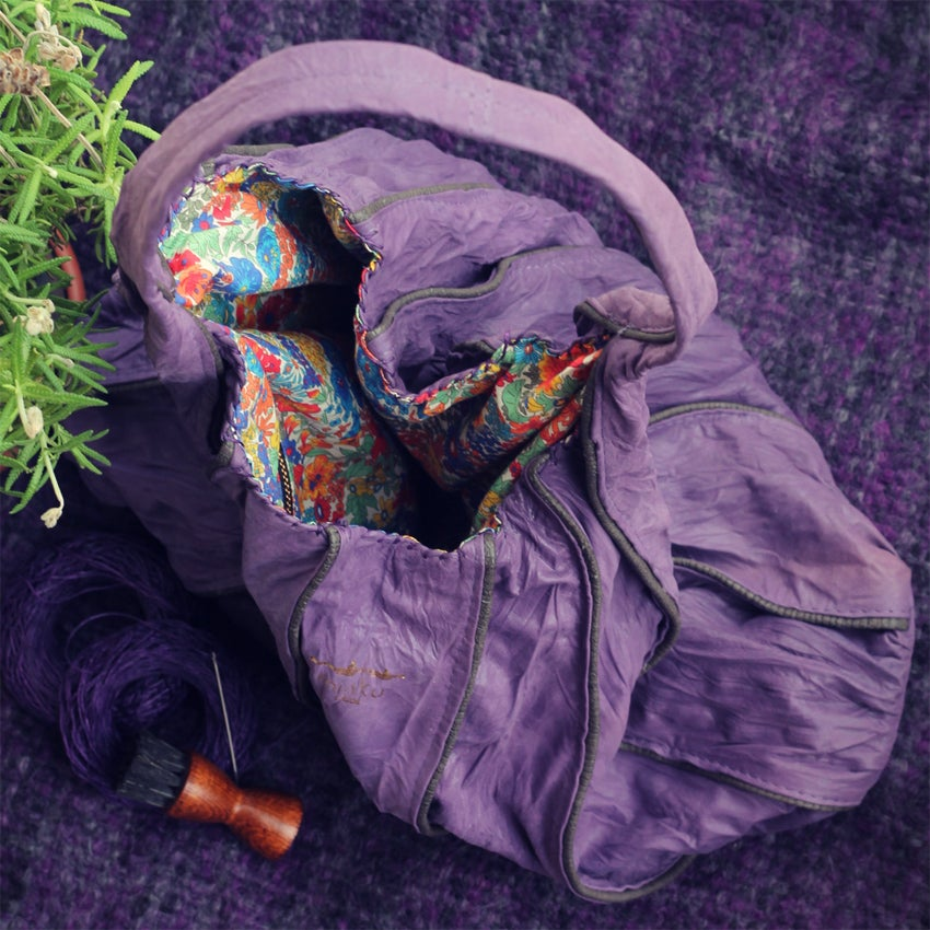 Image of Afefe lightweight bag - Purple