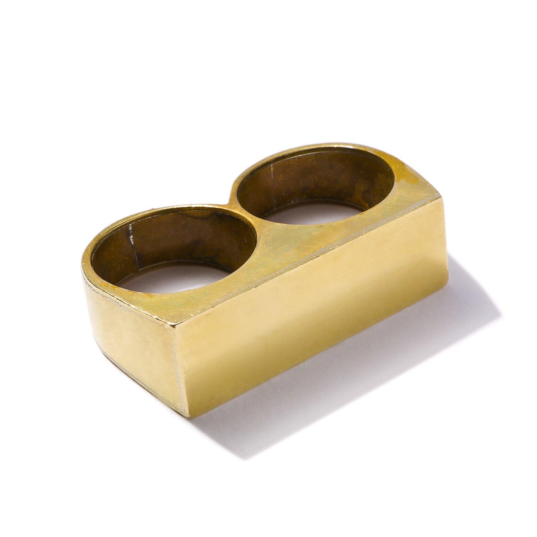 Image of Oversized Double Ring