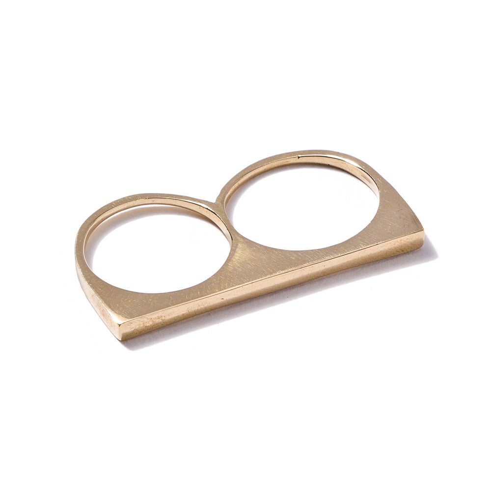 Image of Classic Double RIng