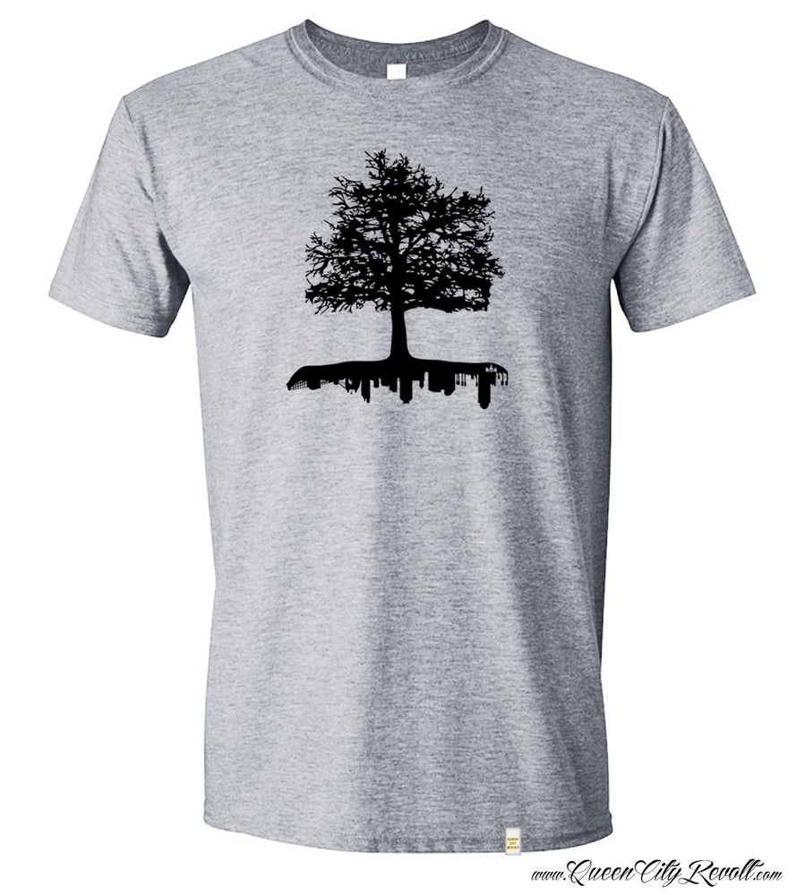 Image of Cincinnati Roots Tee, Grey