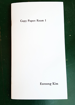Image of Copy Paper: Ream 1 by Eunsong Kim