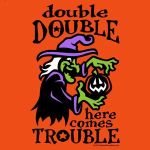 "Image of ""Here Comes Trouble"" Kids T-Shirt"