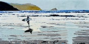 Image of Fistral Beach, Newquay - The winter sea beckons