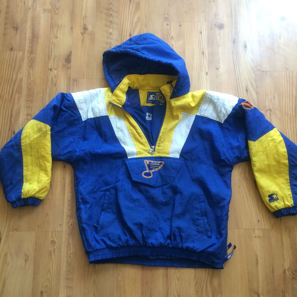 Image of Vintage St. Louis Blues Starter Pullover
