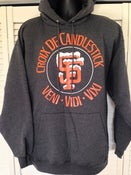 Image of Croix De Candlestick Hooded Sweatshirt