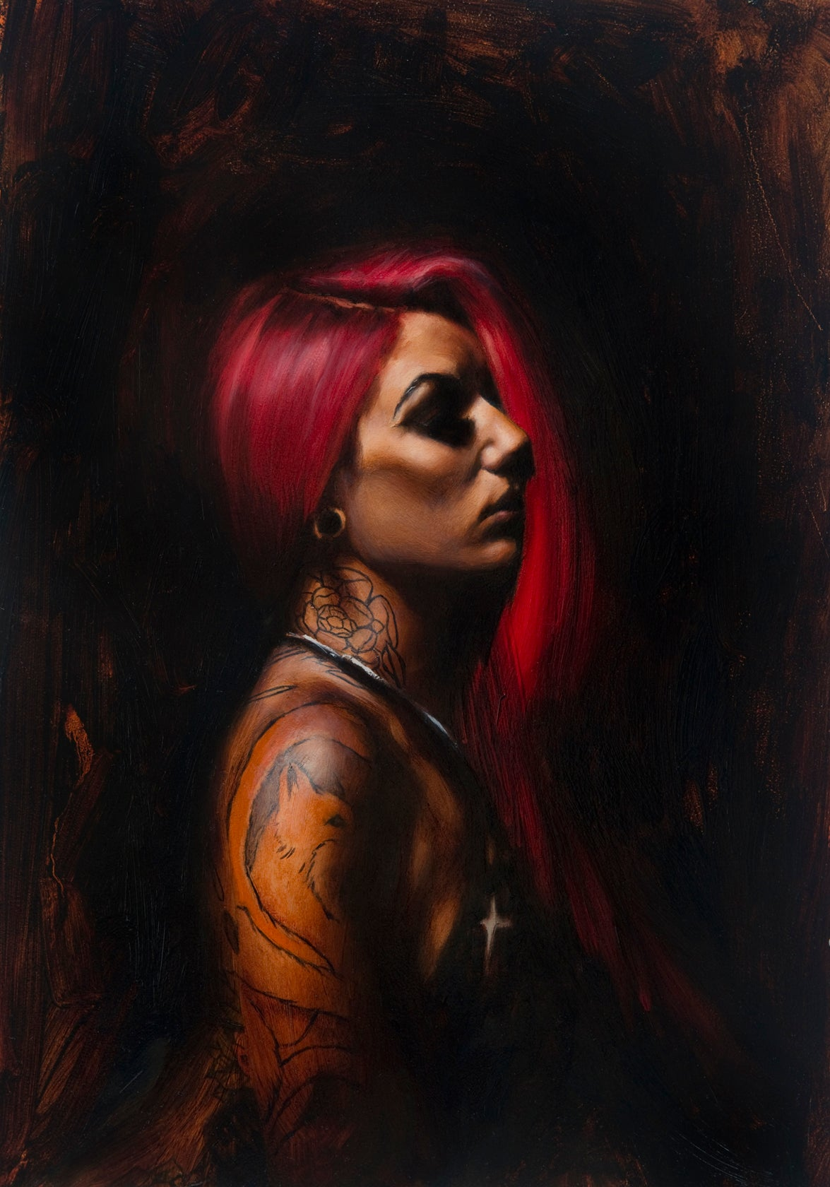 Image of Limited Edition 'Cervena' Print